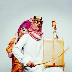 Saudi Traditional Mix on Behance