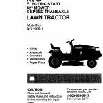 craftsman lawn mower parts in michigan