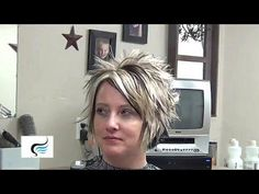 How To Cut Short Messy Hairstyles for Women - YouTube