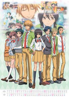 kaichou wa maid-sama poster