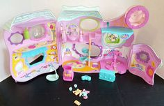 Littlest Pet Shop Fitness Center Playset Play House w/Accessories in Toys & Hobbies, Preschool Toys & Pretend Play, Littlest Pet Shop | eBay