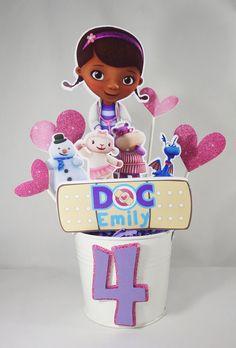 LG Centerpiece Bucket DOC MCSTUFFINS Inspired Girls by EPICparties, $40.00