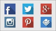 145+ Best Free Social Media Icons Buttons — Designrazzi