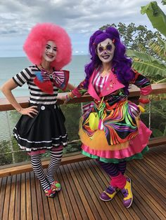 Female Clown, Send In The Clowns, Clowning Around, Harajuku, Art, Style, Fashion, Fiesta Party, Art Background