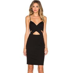 REVOLVE bodycon dress REVOLVE / Size small / Brand new with tags / Cut out detail / Black hidden zipper closure Lovers + Friends Dresses Midi