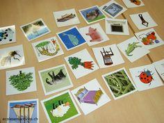 ecoles enfantines - 3 ateliers autour des syllabes