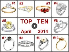TOP 10 Deals on Rings/Jewelry (April 2014). Learn more --> https://www.facebook.com/AmazingDailyDealsSite