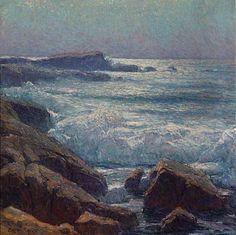 """Edgar Payne """"waves on the California Coast"""""""