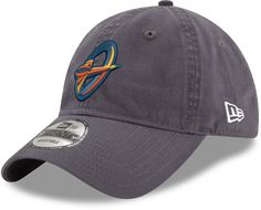 9b084476798 New Era Men s Orlando Apollos 9Twenty Dark Graphite Adjustable Hat