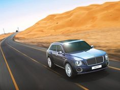 Bentley's SUV concept, EXP 9 F. Looks like our Cayenne, except about two hundred thousand dollars more expensive!