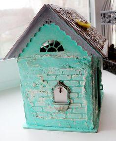 Mint dollhouse. Rumboks dolls. - Fair Masters - handmade, handmade