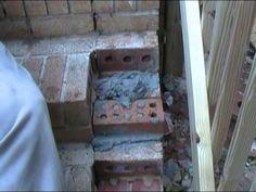 How to : Repair Brick Steps with Loose, Broken, or Missing Bricks - YouTube