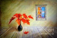 Digital Art - Autumn Leaves by Veikko Suikkanen , Autumn Leaves, Still Life, Fine Art America, Congratulations, Digital Art, Design Inspiration, Colours, Wall Art, Display Ideas