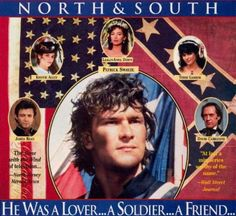 Love this advertisement for one of the greatest miniseries of all time, North and South. And Patrick Swayze was brilliant as one of the main characters in the entire series! Parfum Yves Rocher, Patrick Swazey, Parker Stevenson, North And South, Civil War Movies, Patrick Wayne, Southern Ladies, Southern Gentleman, Bon Film