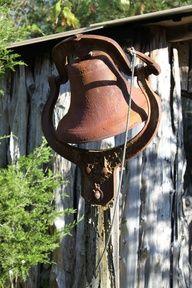 farm bell - Love old Farm/Church/School Bells. If you have one lets talk . LOL I want t