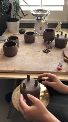 Ceramic Techniques, Pottery Techniques, Ceramic Pots, Ceramic Clay, Porcelain Ceramic, Ceramic Studio, Ceramic Jewelry, Ceramic Decor, Clay Pots