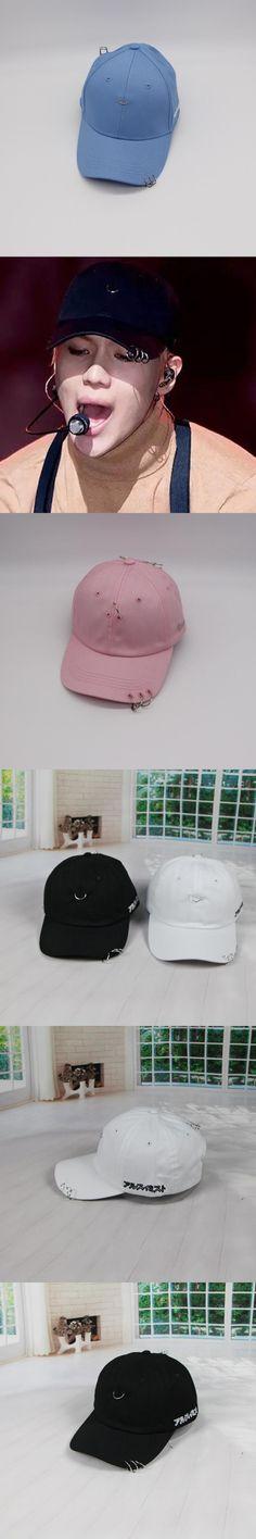 GD CL Zhilong Jay Park Hat Pin Ring Hoop peaked cap baseball cap metal ring decoration snapback hiphop cap