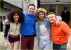 Zac Efron, Zendaya, and Hugh Jackman Join James Corden in Epic 'Crosswalk Musical' - Watch Here!