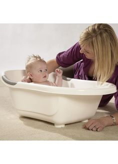 Tippitoes Baby Bathtub:  Classically designed but with a clean modern edge is the luxurious Tippitoes Standard Bath. Designed to be comfortable for Baby and easy to handle for Parents the bath has an integral soap holder and anti slip bottom and arm rests, which provide comfort whilst reducing slippage. The simple drainer design allows water to flow smoothly leaving no stains.