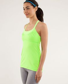 Scoop Me Up Tank in Zippy Green