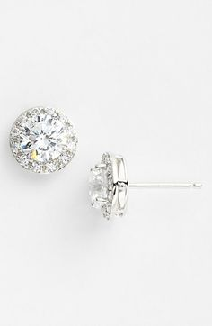 Nordstrom Cubic Zirconia Stud Earrings available at #Nordstrom