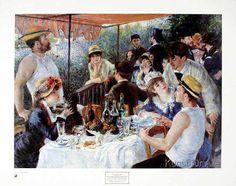 Pierre Auguste Renoir - Die Mahlzeit der Ruderer