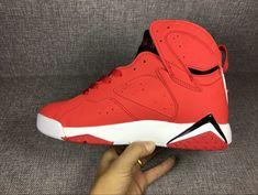 release date: 53f25 70142 Cheap Air Jordan 7 Red Black White On Sale
