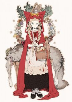A'J, Red Riding Hood, Big Bad Wolf, Red Riding Hood (Character), House, String