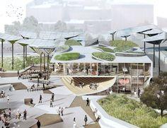 Galería de OMA, MLA y IDEO diseñarán nuevo parque en el centro de Los Angeles - 1