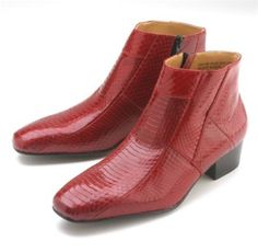 Check this out red boots for only US $139. Buy more save more. Buy 3 items get 5% off, Buy 8 items  get 10% off.