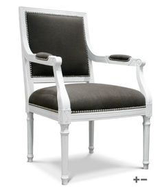 jonathan adler louis arm chair - dining chair inspiration