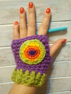 Hot or not? Fingerless gloves by CraftMaga