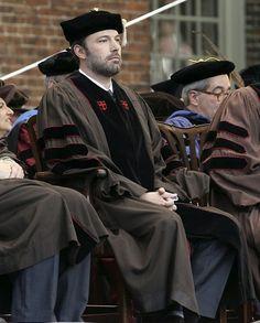 Ben Affleck graduate from Brown University in Rhode Island