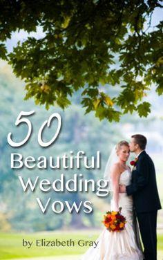 50 Beautiful Wedding Vows