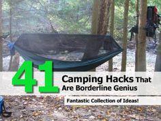 41 Camping Hacks That Are Borderline Genius.. Bring tea tree oil!