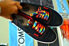 Im gonna get these laces for my black vans.