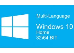 WINDOWS 10 HOME MULTI-LANGUAGE 3264 BIT KEY LICENZA