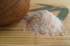 Cómo hacer harina de coco (sin gluten) www.cocinasalud.com