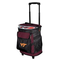 Virginia Tech Hokies NCAA Rolling Cooler