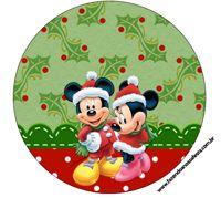 "Imprimés Thème ""Mickey-Minnie Noël"" : http://fazendoanossafesta.com.br/2014/10/mickey-safari.html/"