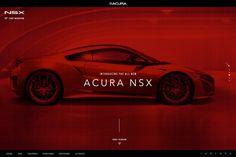"""다음 @Behance 프로젝트 확인: """"Acura NSX interactive experience"""" https://www.behance.net/gallery/44849071/Acura-NSX-interactive-experience"""