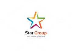 Star Group Logo by XpertgraphicD on Creative Market