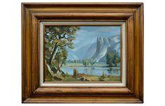 Yosemite Valley Before The Storm - Robert Azensky Fine Art Art