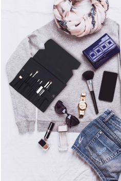 Kusshi is not just your typical makeup bag. Travelling with your makeup and brushes has never been easier. Go out with style & elegance. Kusshi is so user friendly that it becomes the makeup bag you want it to be. Check it out here: www.kusshi.co