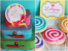 love this lollipop party!