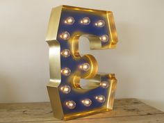 You don't have to be a Movie Star to get your name in lights; we can make any letter or number with the color you want...and light it up!