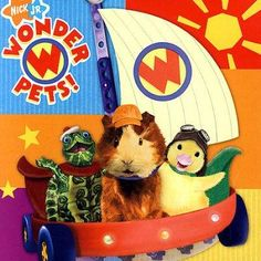 "The debut album from the hit Nick Jr. show, THE WONDER PETS, includes kid's favorites ""The Wonder Pets"", ""Poor Baby Squirrel"", ""Hold on Pigeon"". ""The Oasis"" and more. Also included is the bonus track"