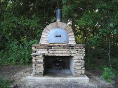diy outdoor pizza oven. yes, please.