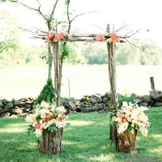 Take a look at the best small backyard wedding in the photos below and get ideas for your wedding! I'm totally not having a small wedding or an outdoor wedding, but this is beautiful. Wedding Arbors, Wedding Ceremony Arch, Wedding Backyard, Wedding Ceremonies, Outdoor Ceremony, Garden Wedding, Modern Backyard, Ceremony Backdrop, Backyard Bbq