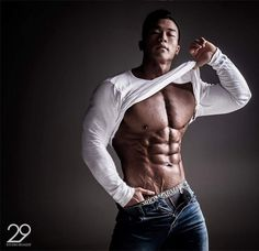 Ripped Asian Hunk